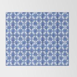 Shibori Itajime Throw Blanket