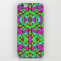 erykah badu iPhone & iPod Skins featuring BADU by Kelesi