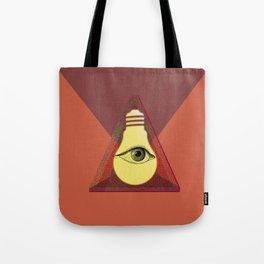 """Illuminati"" bulb Tote Bag"
