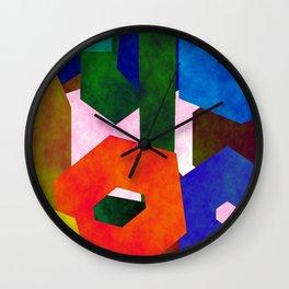 Retro Artistic Pattern Wall Clock