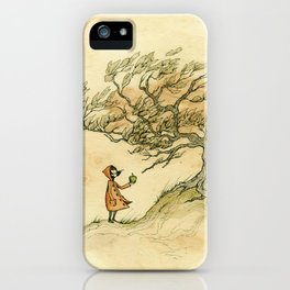 Windy Day iPhone Case