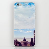 skyline iPhone & iPod Skins featuring skyline by Maria Ostapchuk