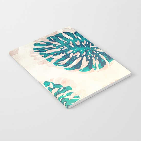 CALI TROPICAL LEAVES Notebook