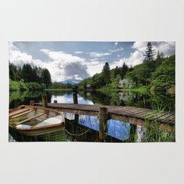 Tranquility At Loch Ard Rug