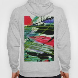 Abstract Joy 3A by Kathy Morton Stanion Hoody