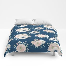 Dog Rose Pattern Comforters