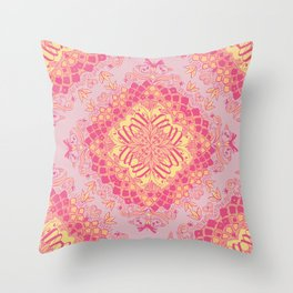 Love Butterfly Pattern Throw Pillow