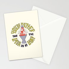 YOU'RE HOTTER... Stationery Cards