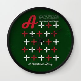 A Christmas Story - A+++++ Wall Clock