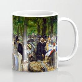 Edouard Manet Music in the Tuileries Coffee Mug