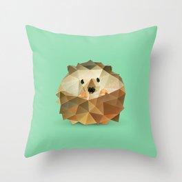 Hedgehog. Throw Pillow