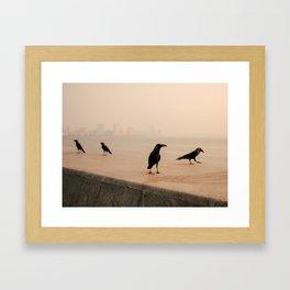 Mumbai Birds Framed Art Print