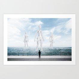 The Future is Bright #2 Art Print