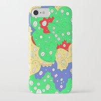 jenny liz rome iPhone & iPod Cases featuring Liz by Amanda Trader
