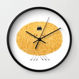 Poofy Snafiss Wall Clock