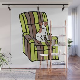 Eddie & The Ugly Chair Wall Mural