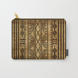African Weave Carry-All Pouch