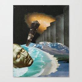 nebula - collage Canvas Print