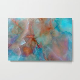 Colorful watercolor abstraction Metal Print