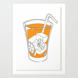 T.I.E. Tea Art Print
