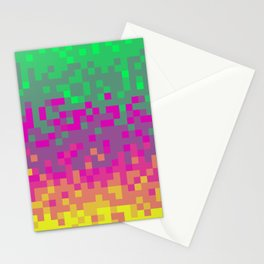 Pixel color Stationery Cards