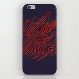 The E is there iPhone Skin