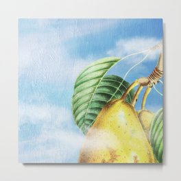 Pear Heaven Metal Print
