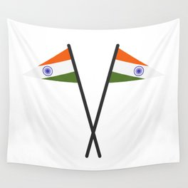 india flag Wall Tapestry