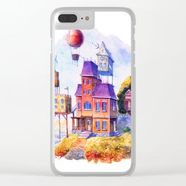 Home Clear iPhone Case