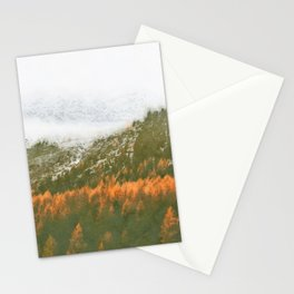 Mountain watercolor painting #2 Stationery Cards