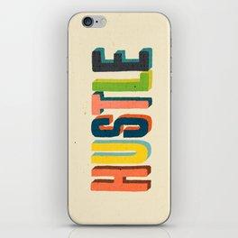 Hustle iPhone Skin