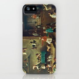 The Kitchen by David Teniers the Younger iPhone Case