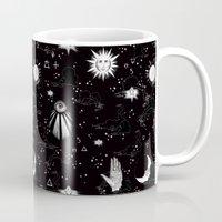 spiritual Mugs featuring Spiritual Alchemy by Deborah Panesar Illustration