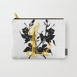 Locust tattoo roses Carry-All Pouch