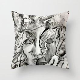 Trueface Throw Pillow