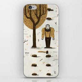 The Woodsman iPhone Skin
