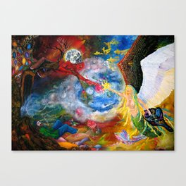 Marriage of Heaven and Hell Canvas Print