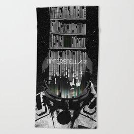 Interstellar Beach Towel