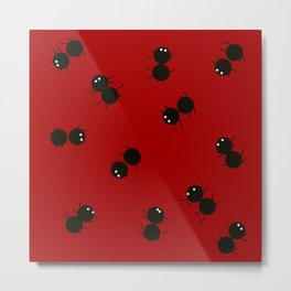 Baby Ants Metal Print