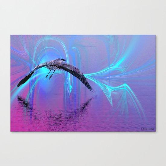 Into The Lagoon Canvas Print
