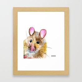 Inky Mouse Framed Art Print