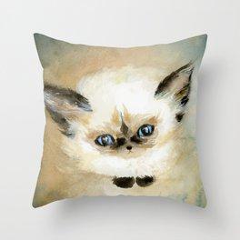 Little Fluff Throw Pillow