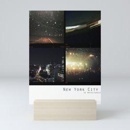 New York Nights Mini Art Print