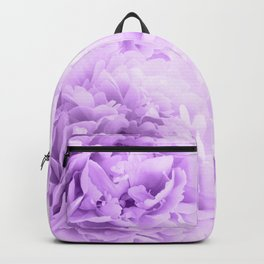 Purple Peonies Dream #2 #floral #decor #art #society6 Backpack