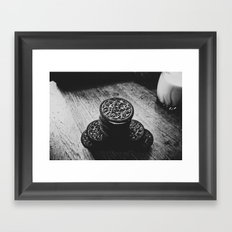 Cookies and Milk  Framed Art Print