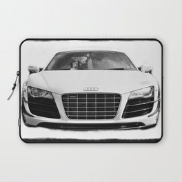 Beauty in Black and White Laptop Sleeve