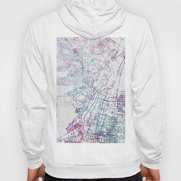 Albuquerque map Hoody
