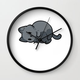 Lazy Blob Lazy Person Gift Wall Clock