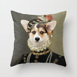 Debora Debutante Throw Pillow