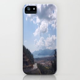Descent Into Marmaris iPhone Case